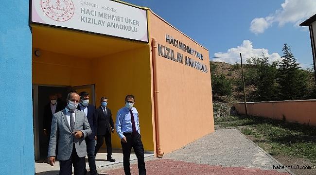 Hacı Mehmet Üner Kızılay Anaokulu Binasında İnceleme