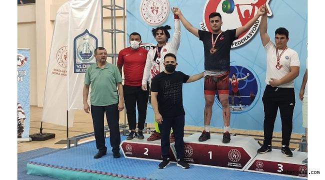 Halterde Türkiye Şampiyonları Çankırı'dan, Tebrikler Gençler…