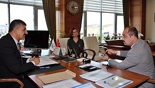 Tosya Belediye Başkanı Volkan Kavaklıgil Rektör Çiftçi'yi Ziyaret Etti