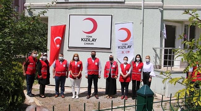 Türk Kızılay'ın 153'üncü Yılı Dönümü Çankırı'da Kutlandı