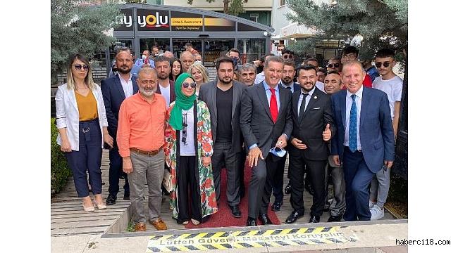 Türkiye Değişim Partisi Genel Başkanı Mustafa Sarıgül, Çankırı'ya Geldi