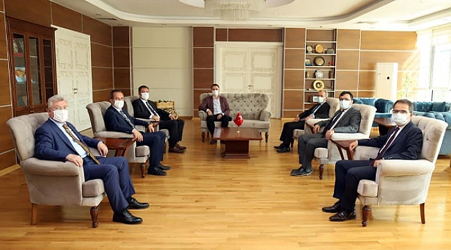 AK Parti İl Başkanlığı Protokol Ziyareti