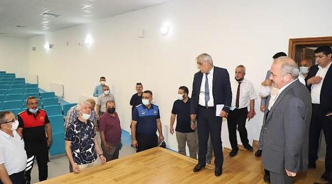 Başkan Esen, Birim Müdürleri İle Çalışmaları İnceledi