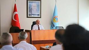 Başkan Esen Birim Müdürleri ile Değerlendirme Toplantısı Yaptı