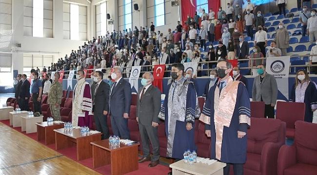 ÇAKÜ'de 2020- 2021 Mezuniyet Töreni