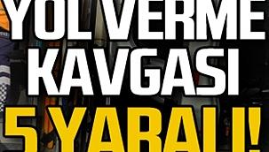 Çankırı'da Yol Vermeme Yüzünden Çıkan Kavgada 5 Kişi Yaralandı