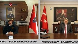 Çankırı İl Emniyet Müdürü Sadettin Aksoy Bolu İl Emniyet Müdürlüğüne Atandı