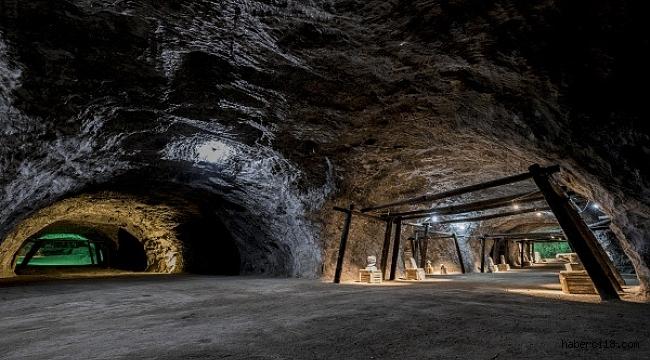 Çankırı Tuz Mağarasını 20 Bin Yerli Ve Yabancı Turist Ziyaret Etti