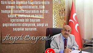 MHP Çankırı İl Başkanı Ahmet Kurt'un Kurban Bayramı Kutlama Mesajı