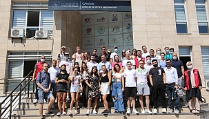 Avrupalı Gençler Şehit Uhud Kadir Işık Gençlik Merkezi'ne Hayran Kaldılar