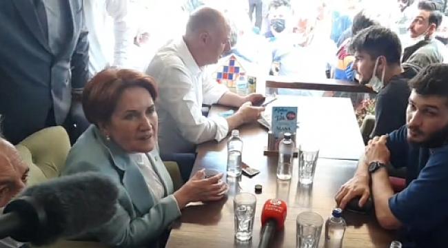 İYİ Parti Genel Başkanı Meral Akşener Çankırı'da