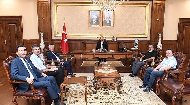 Korgun Belediye Başkanı Ve OSB Heyetinden Kocaeli Ve İstanbul Çıkarması