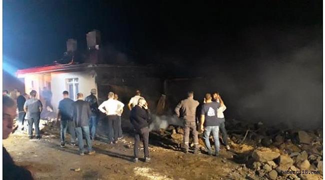 Orta İlçesine Bağlı Yenice Köyünde Yangın