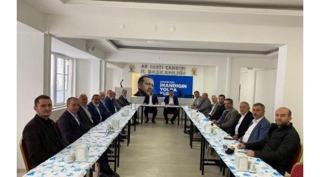 AK Parti Çankırı Teşkilatından Tarihi Buluşma