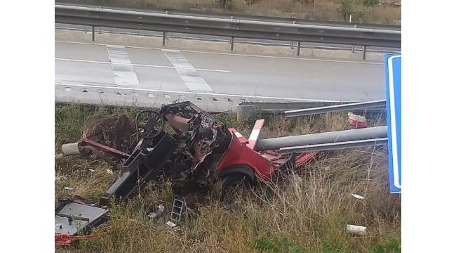 Çankırı Kurşunlu İlçe D-100 Karayolunda Trafik Kazası 1 Ölü