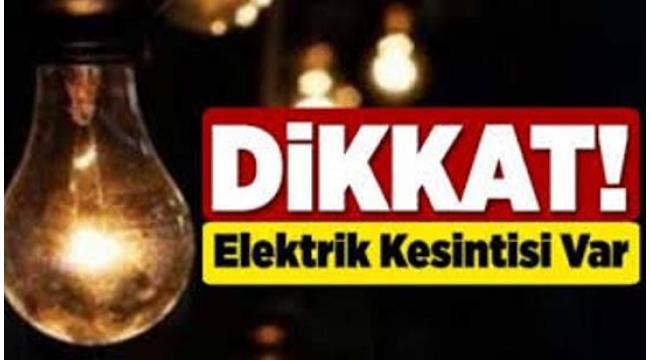 Dikkat Çankırı Merkez, İlçe Ve Köylerinde Elektrik Kesintisi Uygulanacaktır