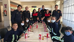 İtfaiye Haftası Kutlamaları Kortej Geçişi ile Başladı