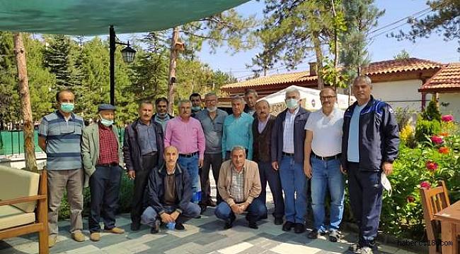 Satıyüzü Köyü Sosyal Yardımlaşma ve Dayanışma Dernek Başkanı Mahmut Bölükbaşı