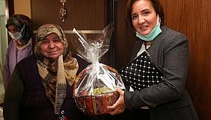 Çankırı Belediyesinden Yaşlılara Hal Hatır Ziyareti