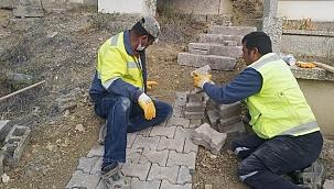 Çankırı Şehir Mezarlığı Bakıma Alındı