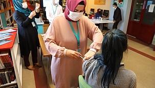 Okullarımızda Yerinde Aşı Uygulaması Başladı