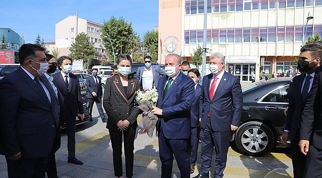 TBMM Başkanı Prof. Dr. Mustafa Şentop, Çankırı'da