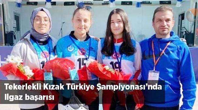 Tekerlekli Kızak Türkiye Şampiyonası'nda Ilgaz Başarısı