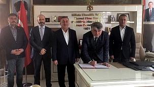 Türk Kızılay Su Fabrikası için Ilgaz'da Protokol İmzalandı