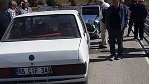 Yine Bademçay Köprüsü Yine Kaza 1 Yaralı
