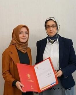 AKP Çankırı Kadın Kolları Başkanlığına Melike Gayret Çilhan Atandı