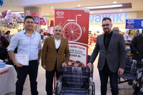 Algida Bölge Müdürlüğü 6 Adet Tekerlekli Sandalye Hediye Etti