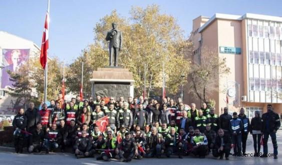ANMOKASK İle TAMKFED Çankırı Motosiklet Derneği'nin Davetlisi Olarak Çankırı'daydı