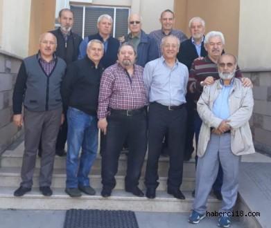 Asker Arkadaşları Kırk Yıl Sonra Çankırı'da Buluştular