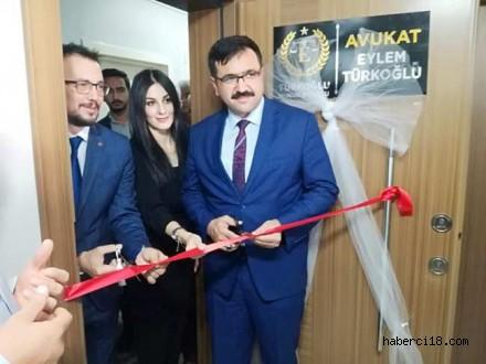 Av. Eylem Türkoğlu Hukuk Bürosu Açıldı