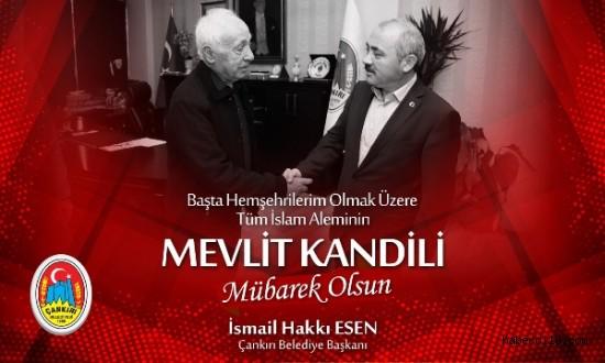 Başkan Esen'in Mevlit Kandili Mesajı
