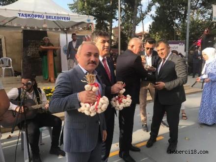 Başkan Esen Uluslararası Taşköprü Kültür ve Sarımsak Festivali'ne Katıldı