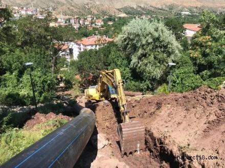 Belediye'den Su Kayıp Kaçakları ile Mücadele İçin 7/24 Çalışma