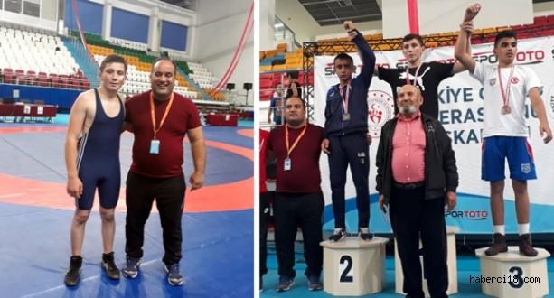 Belediyespor'un Güreşçisi Fatih Özgen Yine Türkiye Şampiyonu