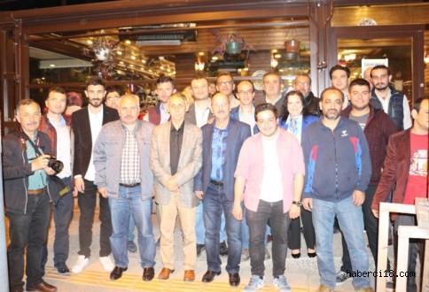 Çalışan Gazeteciler Derneği İftar Programında Bir Araya Geldi