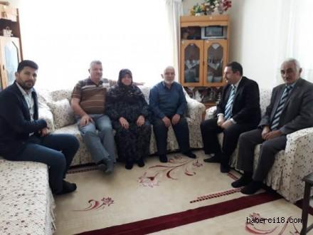 Çankırı AFAD İl Müdürlüğünden Şehit Ailesine Ziyaret