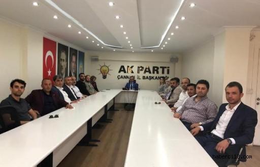 Çankırı AK Parti Merkez İlçe'nin Yeni Yönetim Kurulu Tanıtıldı