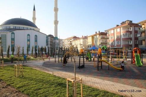 Çankırı Belediyesi'nden Yeni Park
