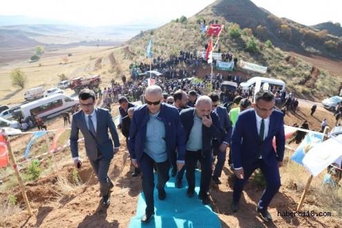Çankırıda 205 Bin Fidan Toprakla Buluştu