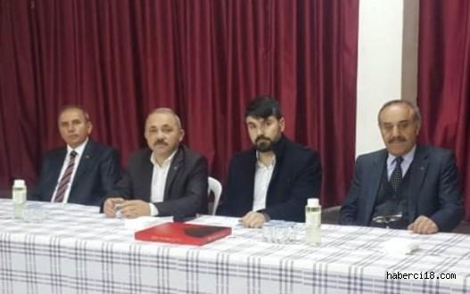 Çankırı'da BBP'ne Gönül Verenler MHP Çatısı Altında Birleşti