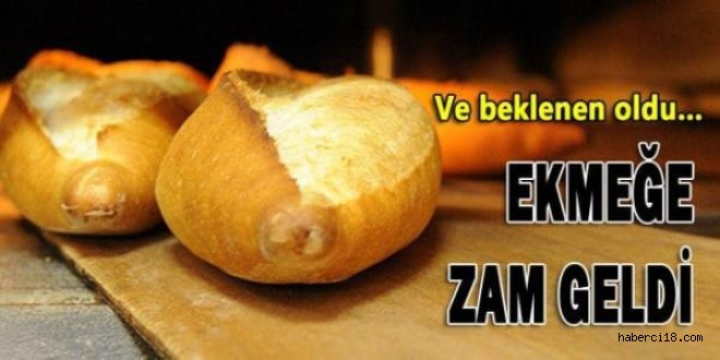 Çankırı'da Ekmeğe Zam Geldi!