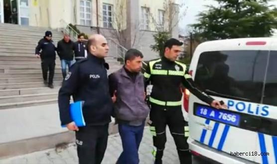 Çankırı'da Hırsızlar Suçüstü Yakalandı