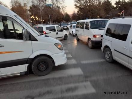 Çankırı'da Trafikte Saygının Olmadığını Bir Kez Daha Tekrarlıyoruz (Özel Haber)