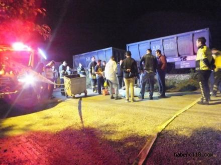 Çankırı'da Tren Kazası 1 Ölü