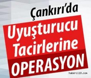 Çankırı'da Uyuşturucu Operasyonu 8 Gözaltı