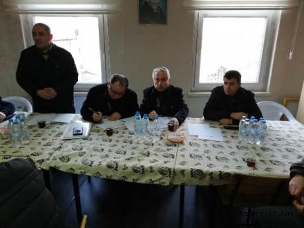 Çankırı'daki Karabüklüler Yardımlaşma Ve Dayanışma Derneği Başkanlığına Muhammet Kurt Seçildi